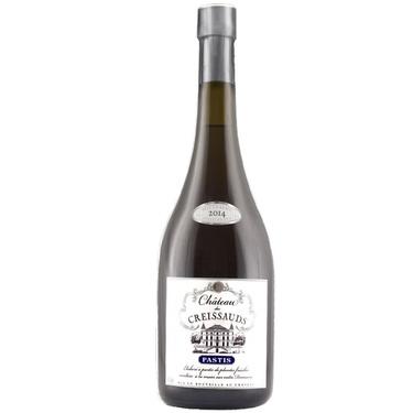 Pastis Chateau Des Creissauds 2018 Caisse Bois 45% 70cl
