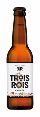 Biere France Basses Pyrenees 3 Rois Ambree 0.33 5%