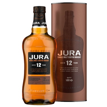 Whisky Ecosse Highlands Single Malt Jura 12 Ans Of 40% 70cl