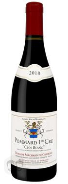 Pommard 1er Cru Clos Blanc Machard De Gramont 2018 75cl