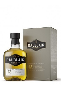Whisky Ecosse Highlands Single Malt Balblair 12 Ans 46% 70cl