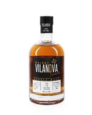 Whisky Vilanova Single Malt Terrocita Tourbe 43% 70cl
