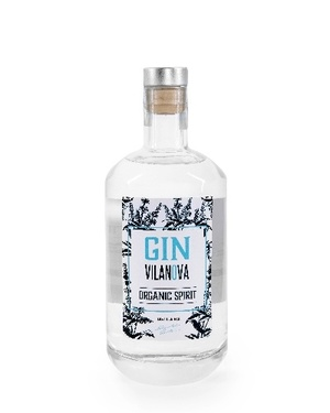 Gin France Vilanova Castan Bio 45% 70cl