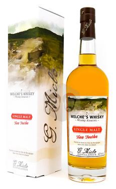 Whisky Alsace Miclo Single Malt Fine Tourbe 43% 70cl