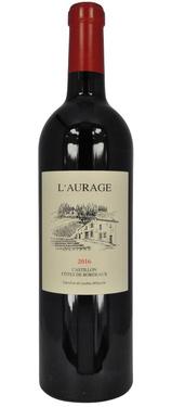 Castillon Cotes De Bordeaux Domaine De L'aurage Mitjavile 2016 75cl
