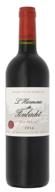 Pauillac 2nd Vin Harmonie De Fonbadet 2016
