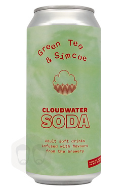 Cloudwater Soda The Vert Et Simcoe Cans 44cl