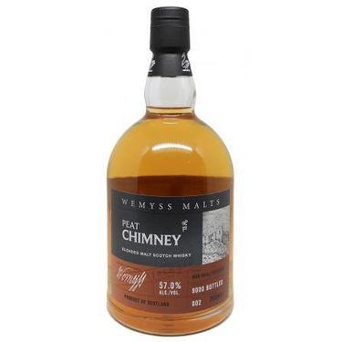 Whisky Ecosse Peat Chimney Wemyss 57% 70cl