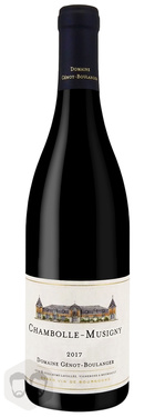 Chambolle Musigny 2017 Domaine Genot Boulanger 75cl