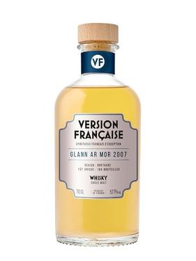Whisky Version Francaise Glann Ar Mor 2007 13 Ans 57.70% 70cl