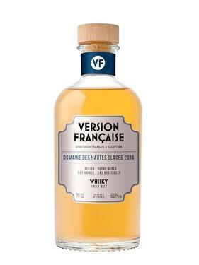Whisky Version Francaise Dom Des Hautes Glaces 2016 4 Ans 55.30% 70cl