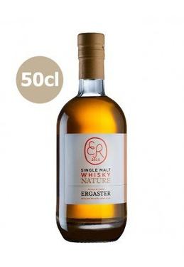 Whisky France Single Malt Nature Ergaster 45% 50cl Bio Sous Etui