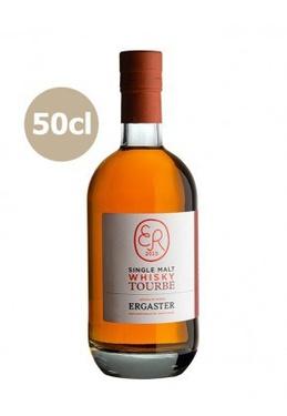 Whisky France Single Malt Tourbe Ergaster 45% 50cl Bio Sous Etui
