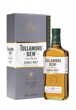 Whiskey Irlande Single Malt Tullamore Dew 14 Ans 41.3% 70cl Sous Etui