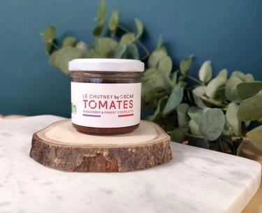 Chutney Tomates Gingembre Piment D'espelette By Oscar 100g