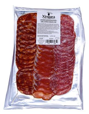 Composition Saucisson / Lomo / Chorizo Duroc Xingara 150g