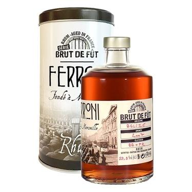 Rhum Brut De Fut Belize 2013 Ferroni 59.8% 50cl