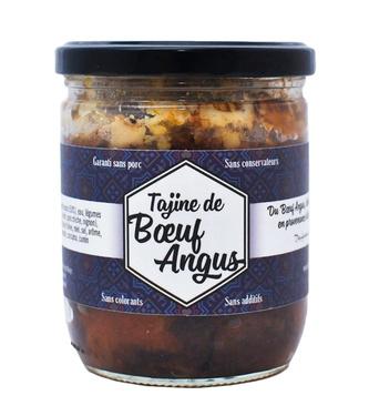 Tajine De Boeuf Angus Origine France 375g