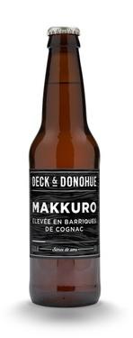 Biere Bonneuil Deck&donohue Makkuro Finish Cognac 6.5% 33cl