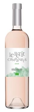 Igp Mediterranee Rose Le Petit Campanets 2020 75cl Bio