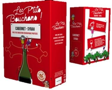 Bib 3l Igp Oc Cabernet Syrah Rouge Les Petits Bouchons