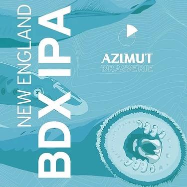Biere France Bordeaux Azimut New England Bdx Ipa Canette 33cl 5.6%