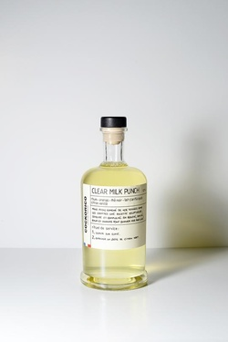Cocktail Cockorico Clear Milk Punch 12.1% 50cl