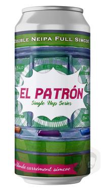 France The Piggy El Patron Double Neipa Cans 8% 44cl