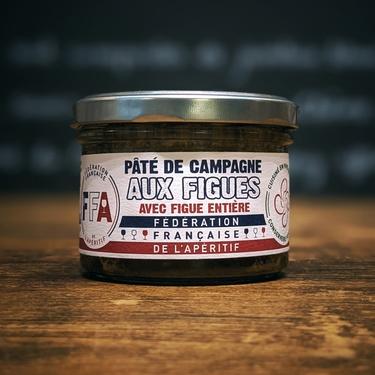 Pate De Campagne Aux Figues F.f.aperitif 170g