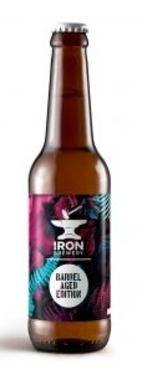 Montauban Iron Imp Stout Pistache Fraise Barrel Aged Vin Rouge 11% 33cl