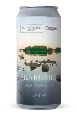 Uk Burnt Mill Skargard West Coast Ipa Cans 6.4%  44cl