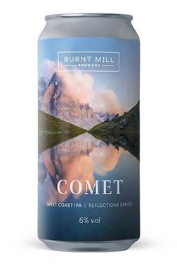 Uk Burnt Mill Comet West Coast Ipa Cans 6%  44cl