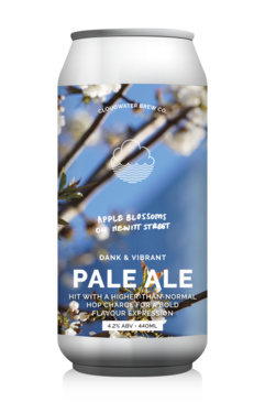 Uk Cloudwater Apple Blossoms Of Hewitt Street Pale Ale Cans 4.2% 44cl
