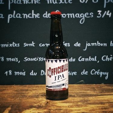 Biere France F.f.aperitif L'officielle Ipa 6% 33cl