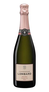 Champagne Rose Lombard Extra Brut 1er Cru