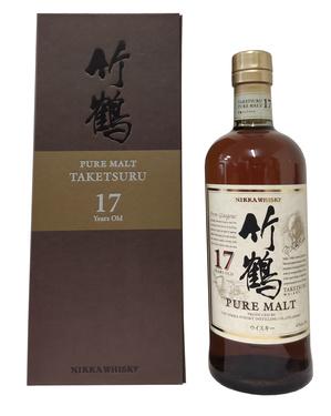 Whisky Japon Blend Nikka Taketsuru 17 Ans 43% 70cl