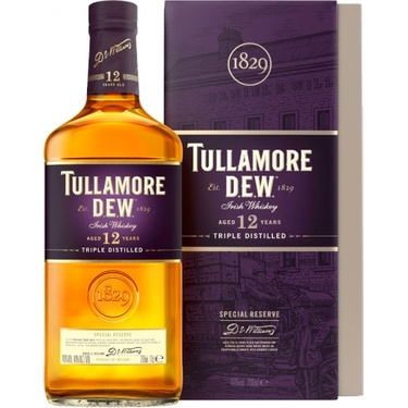Whiskey Irlande Blend Tullamore Dew 12 Ans Special Reserve 40% 70cl Sous Etui