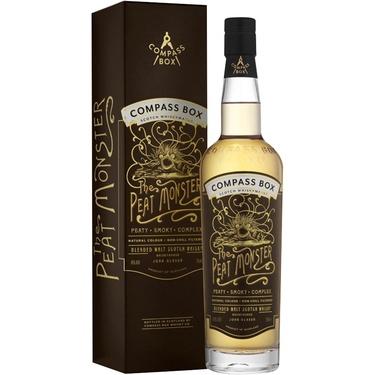 Whisky Ecosse Blended Malt The Peat Monster 46% 70cl