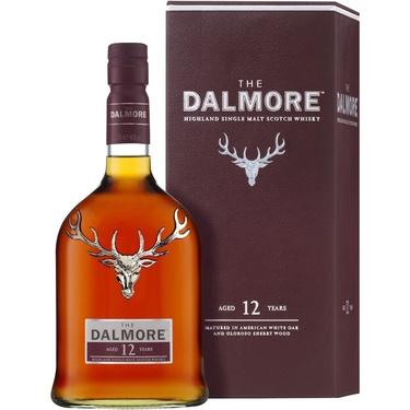 Whisky Ecosse Highlands Single Malt Dalmore 12 Ans 40% 70cl