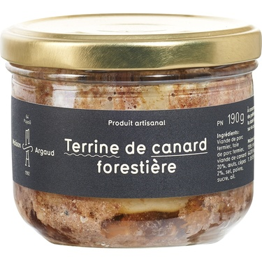 Terrine De Canard Forestiere Bocal 190g