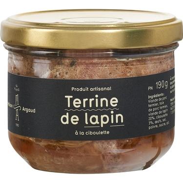 Terrine De Lapin A La Ciboulette Bocal 190g