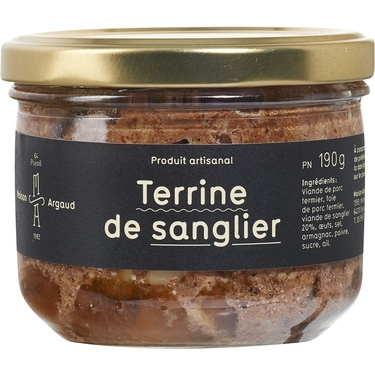 Terrine De Sanglier Bocal 190g