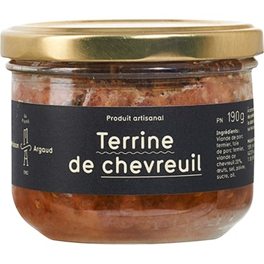 Terrine De Chevreuil Bocal 190g