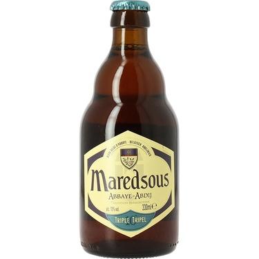 Biere Belgique Abbaye Maredsous Triple 0.33 10%