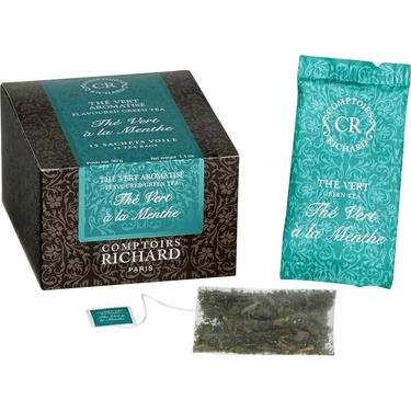 Comptoirs Richard The Boite 15 Sachets The Vert Menthe