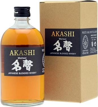 Whisky Japon Blend Akashi Meisei 40% 50cl Sous Etui
