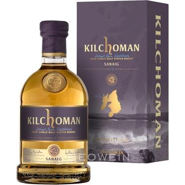Whisky Ecosse Islay Single Malt Kilchoman Sanaig 46% 70cl