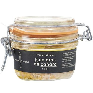Foie Gras De Canard Entier Bocal Sterilise 115g Issu De Canard Label Rouge