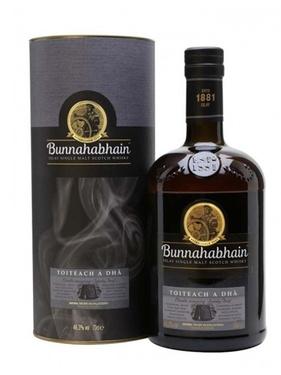 Whisky Ecosse Islay Single Malt Bunnahabhain Toiteach 46% 70cl