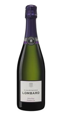 1/2 Bt Champagne Blanc Lombard Extra Brut 1er Cru